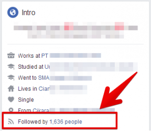 Cara membuat akun facebook yang bisa mendapatkan ribuan follower 2