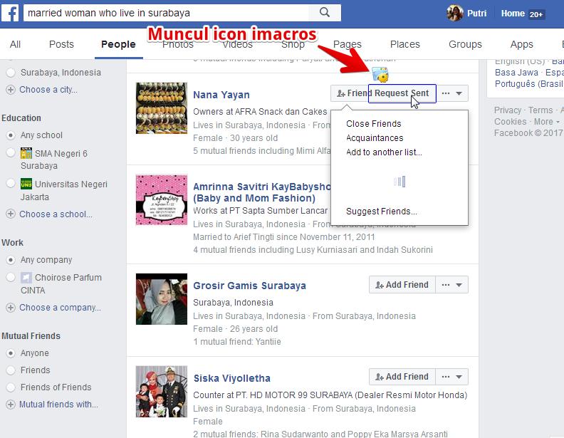 Cara menggunakan imacros untuk add friends facebook dari graph search 3